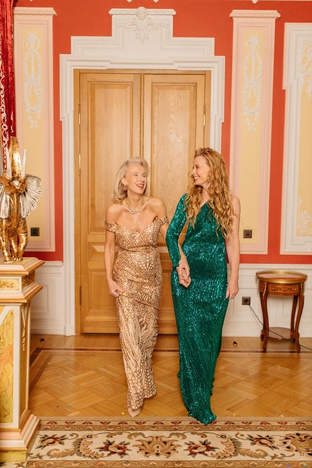 deux femmes bohémienne